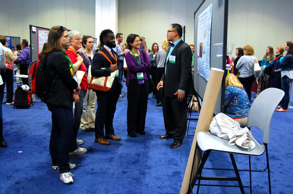 Poster Presentation at AOTA's 2015 Conference and Expo. Image provided by AOTA.
