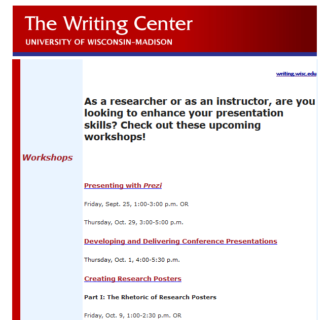 Help with academic writing different from a letter