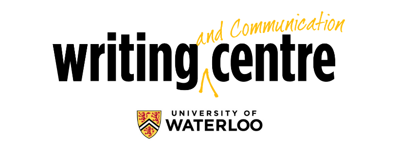 University of Waterloo Writing and Communication Centre Logo