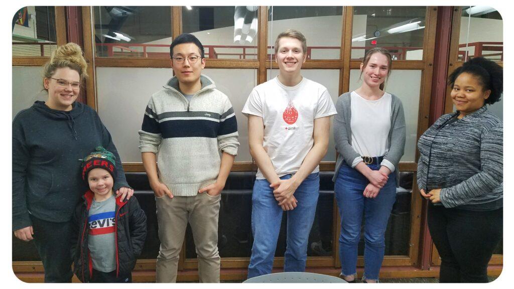 undergraduate writing group participants