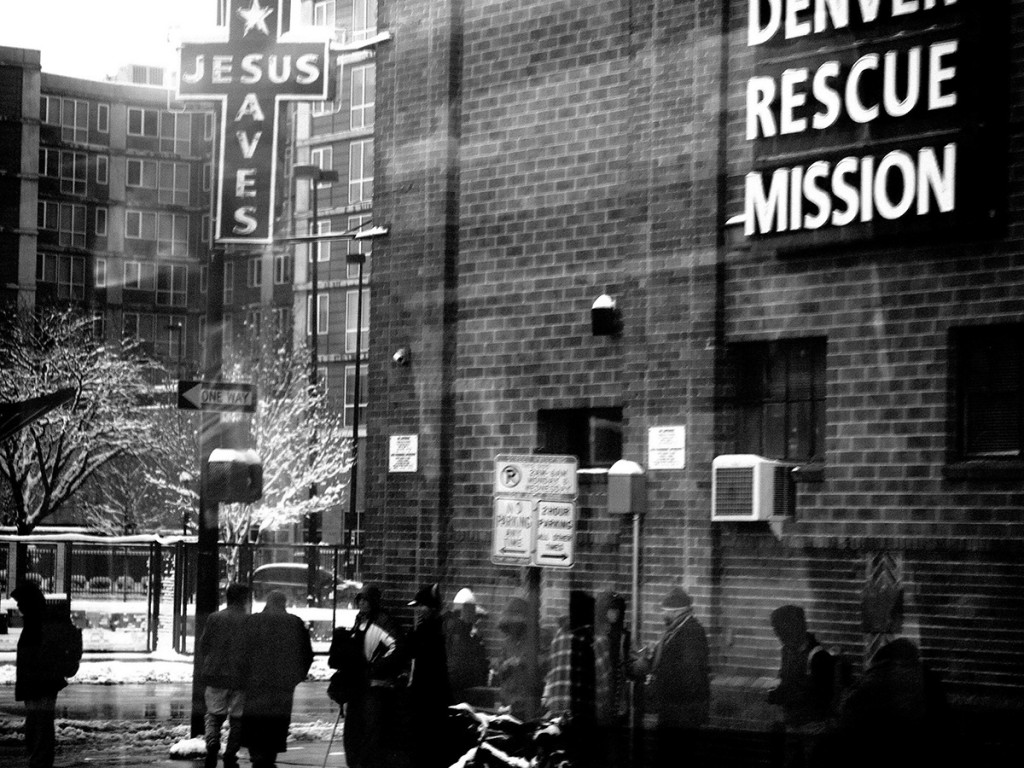 The Denver Rescue Mission.