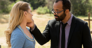"Westworld's Dolores hears whispers urging her to ""remember,"" but whose voice is it?"