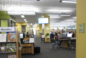 Goodman Public Library in Madison, one of the sites for the Madison Writing Assistance Program