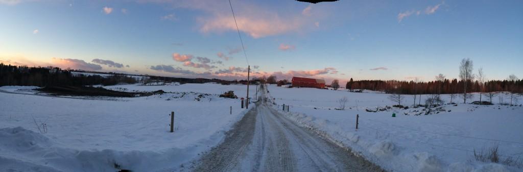 Norwegian Farmland: The Winter Edition