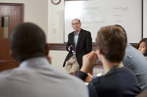 John Duffy with His Writing and Rhetoric Class, Fall 2012
