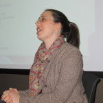 Professor Jennifer Gipson, French and Italian, on WAC panel at Teaching and Learning Symposium in May