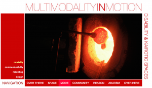 "Screencapture of ""Modality in Motion"""