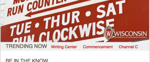 The Writing Center is trending!