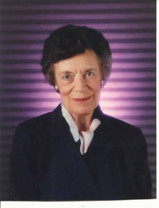 Professor Joyce S. Steward (1917-2002), founder of the Writing Laboratory at the University of Wisconsin-Madison