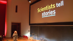 Judy Swan gives a TEDx talk at Carnegie-Mellon University in 2013