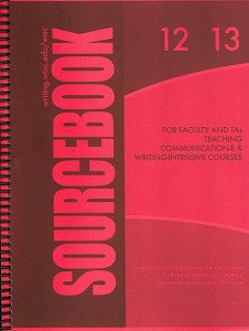 The 2012-13 UW-Madison WAC Sourcebook for Faculty