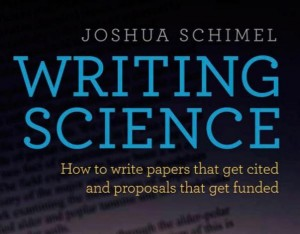 The cover of Writing Science (Oxford University Press, 2011)